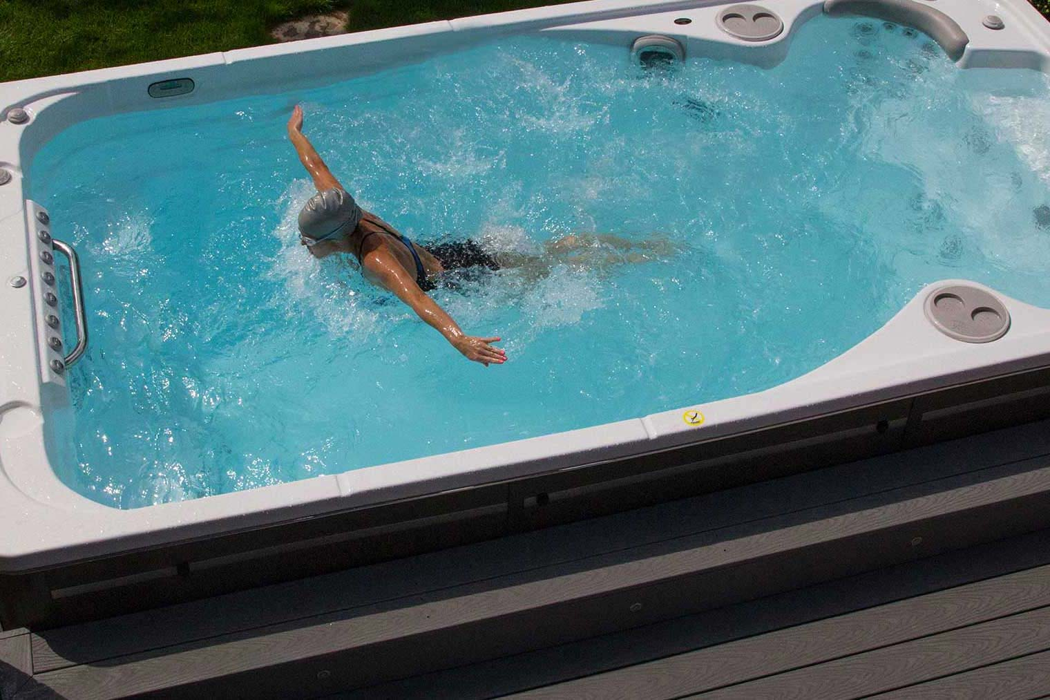 How Does a Swim Spa Compare to Lap Swimming