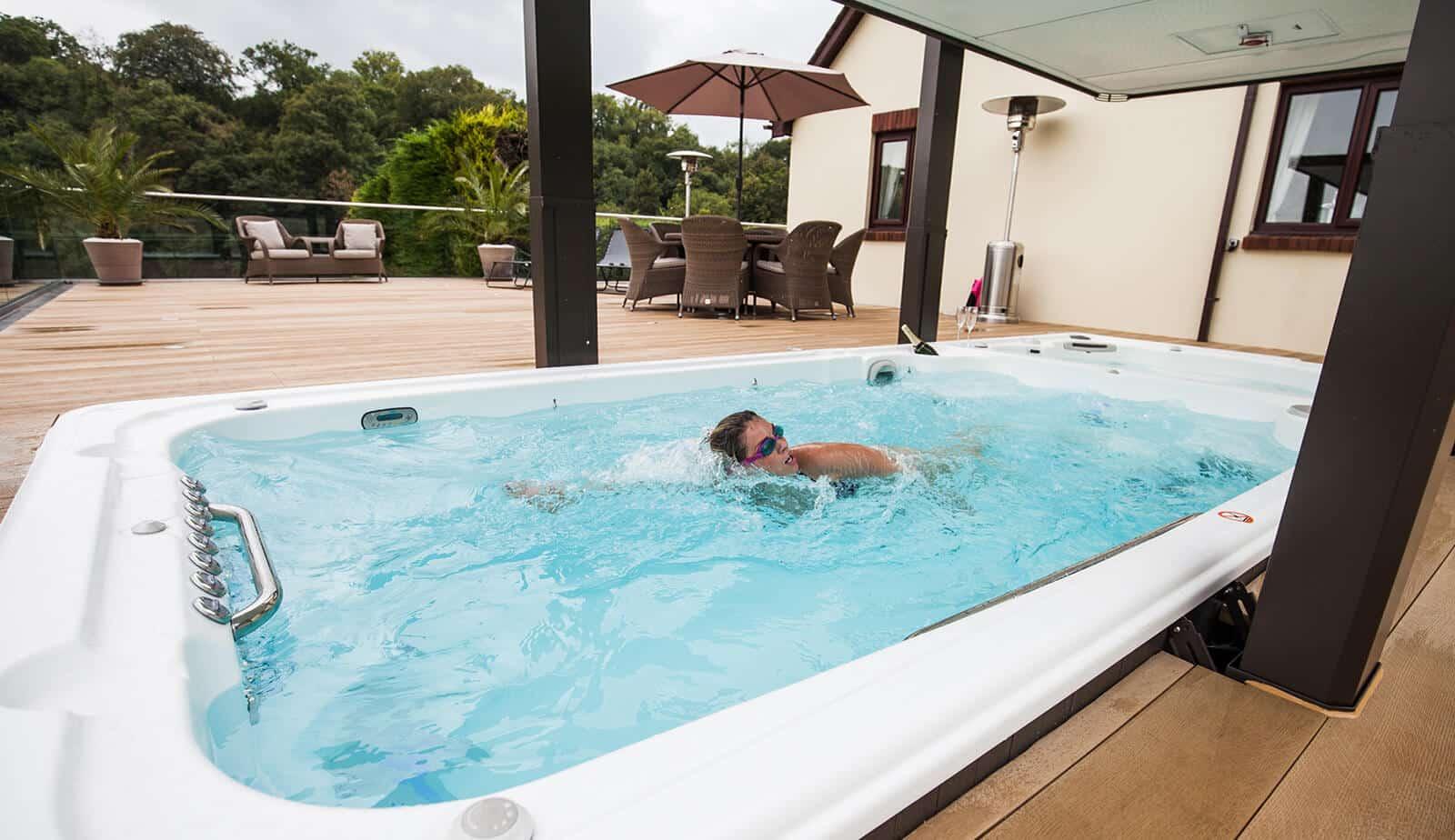 Swim Spa exercises
